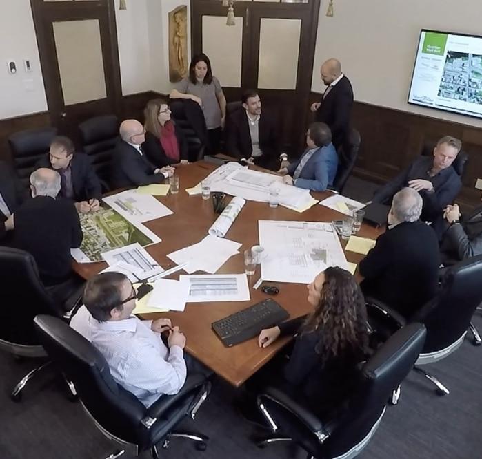 Équipe EXP et Groupe Custeau pour le projet de revitalisation Espace Centro de Sherbrooke
